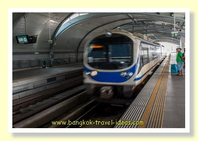 Train to Bangkok Airport