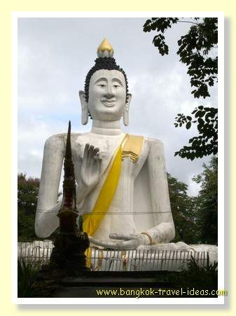 Buddha image on Koh Samet, small desert island near Bangkok