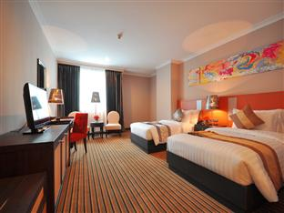 Guest rooms at the Berkeley Hotel Pratunam