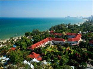 Aerial view of the Centara Grand Hotel at Hua Hin