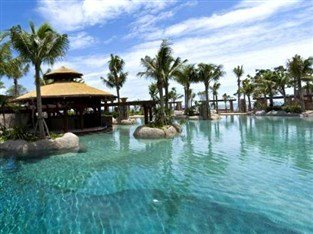 Choice of swimming pools for the children at the Centara Grand hotel