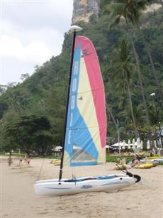 Boat at Centara Grand Krabi