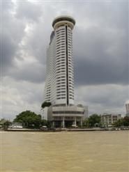 Hilton Hotel on the banks of the Chao Phraya River