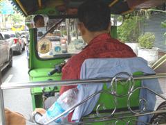 Bangkok tuk tuk to go to Chinatown