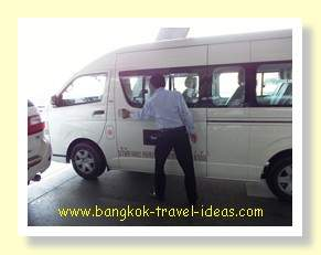 The Cottage Suvarnabhumi Airport hotel transportation to the hotel
