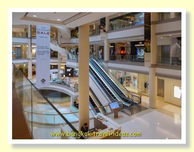 Gaysorn Plaza shopping mall atrium