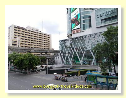 Zen and Central World shopping malls