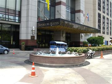 Bangkok budget hotels can even be found in Sukhumvit
