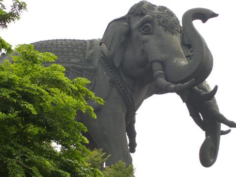 Erawan Monument in Bangkok