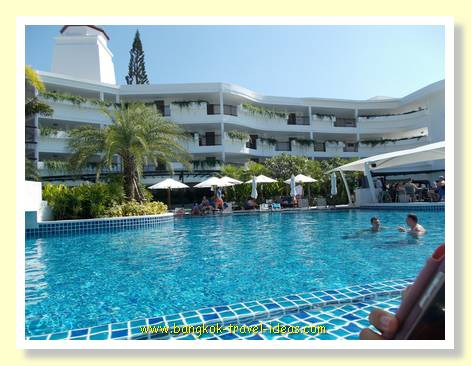 Swimming pool at the Novotel Karon Beach, Phuket