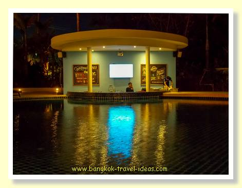 Pool bar at the Novotel Phuket Karon Beach