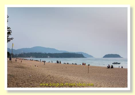 Dusk at Karon Beach, Phuket