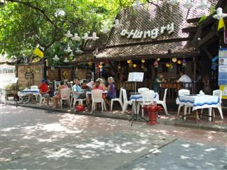 Relax with a coffee in Banglamphu