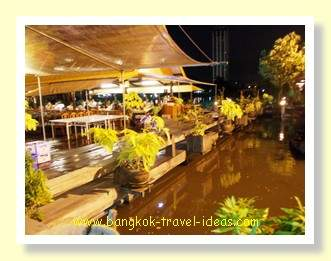 Klang Bueng is located on a small lake with large fish