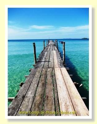 Pier at Dusita Resort