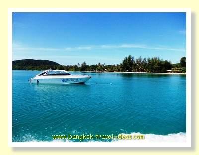 Koh Mak speedboat