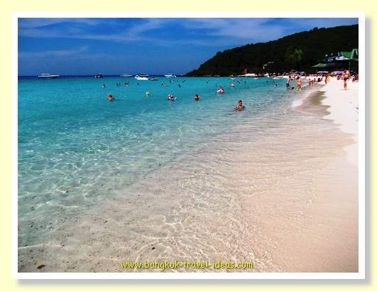 One of the best beaches near Bangkok