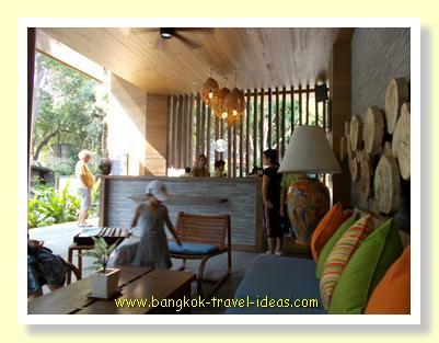 Sai Kaew Beach Resort reception area
