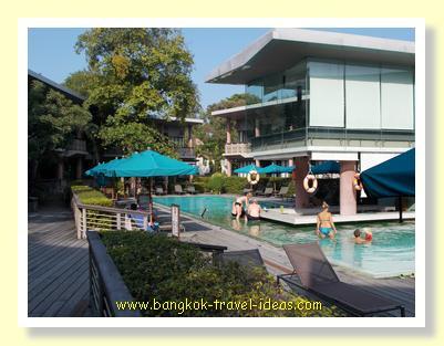 New swimming pool at Sai Kaew Beach Resort