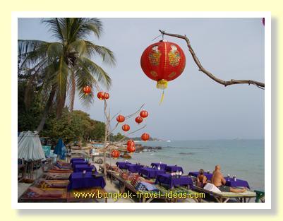 Evening dining on Ao Hin Hok Koh Samet