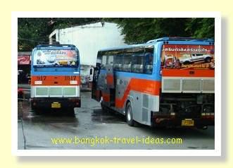 Bus to Koh Samet from Ekkamai bus station