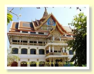 Buddhist temple in Korat Thailand