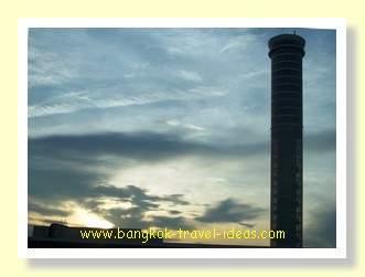 Suvarnabhumi Airport air traffic control tower