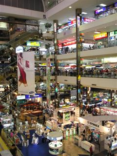Pantip Plaza is Bangkok's most well known IT mall