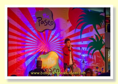Stage at Paseo Mall