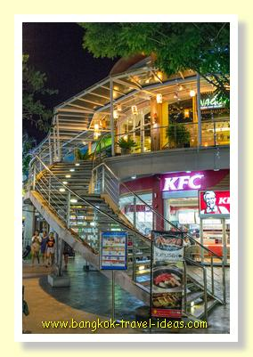 KFC at Paseo shopping mall near to Bangkok Airport