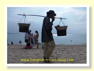 Wongamat beach vendor Pattaya