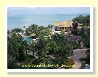 Centara Grand Mirage Beach Resort view, looking towards Laem Chabang