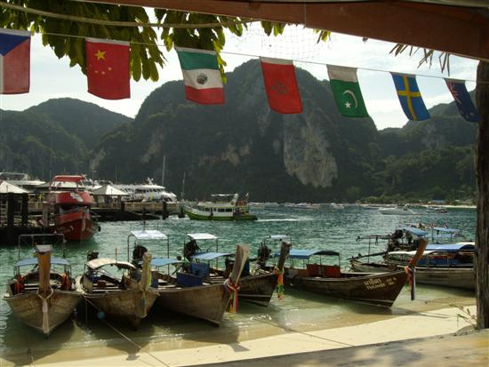 Located just next to the departure pier on Phi Phi island, this bar is popular amongst departing travellers.