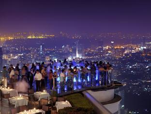 View from Tower Club Lebua Hotel Bangkok