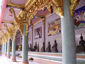 Thailand Buddhist temple in Bangkok