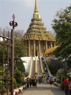 Steps leading to Wat Phra Buddhabat